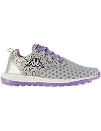 Kappa Calita Chaussures de course à pied pour femme Gris/violet Baskets Sneakers Chaussures de sports
