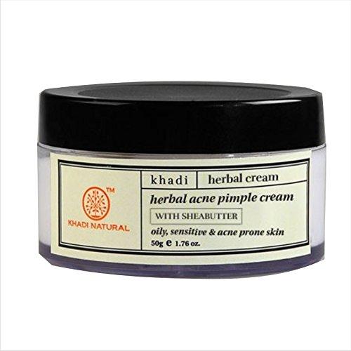 Herbal Akne-Pickel-Creme (50 g) - von Khadi Organic Natural -