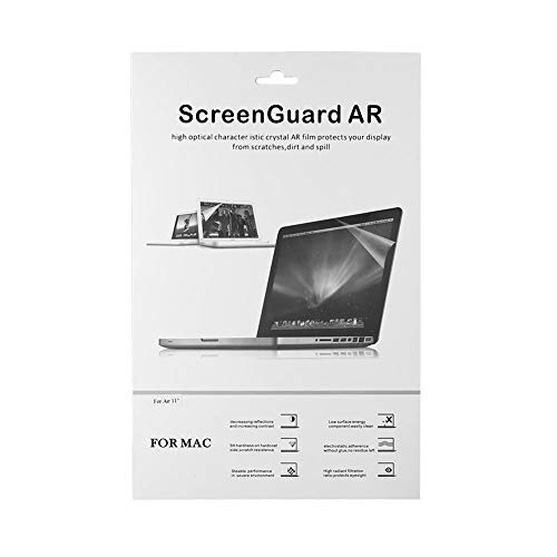 Film Screen Guard Protector Laptop-Abdeckung für Mac Air 11,6 Zoll , Ultra-Thin Crystal Clear Screen Protector Guard Film
