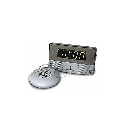Sonic Alert Sonic Boom Alarm Clock with Bed Shaker by YBS (Clock Sonic Boom Alarm)