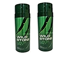 Wild Stone Forest Spice Deodorant For Men 150 ML (Pack of 2)