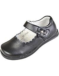 Lisianthus002 Mary Plat Uniforme De L » Enfant Filles Jane Chaussures Scolaires Noir, Couleur Noir, Taille Enfant 28 Eu