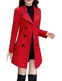 best sneakers 37028 374c4 Amazon.it: cappotto rosso donna - Cappotti / Giacche e ...