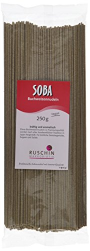 Ruschin Soba-Nudeln, 100% Buchweizen, 1er Pack
