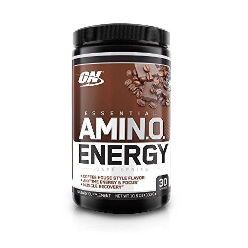 Optimum Nutrition Amino Energy, Iced Mocha Cappucino, 30 Servings - 41sXccIXciL