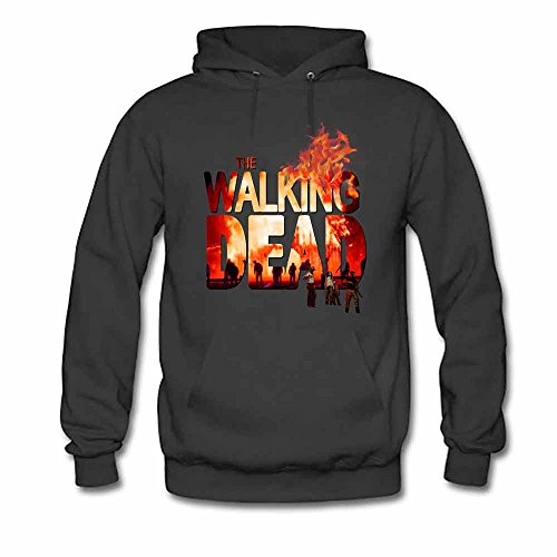 Mens The Walking Dead Pullover Hooded Sweatshirt L