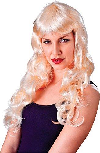 Damen Ausgefallen Party Kostüm Verführerin Gothik Lockig Lang Falsch & Künstliches Perücke - Blond