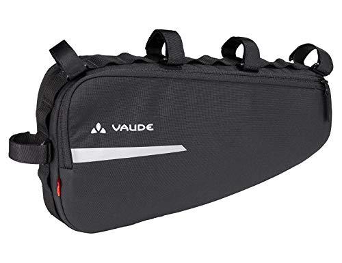 VAUDE Frame Bag, Radpacktasche für das Rahmendreieck Riemen, 36 cm, Black