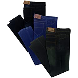 London Looks Men Slim Fit Multi Color Jeans (Combo of 3) (34)