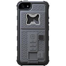 iPhone 6/6S Funda protectora para iPhone 6/6S 4.7Con integrado Mechero de mechero de Multifuncional/abridor de botellas/[Heavy Duty]/golpes, gris, APPLE IPHONE 6.S