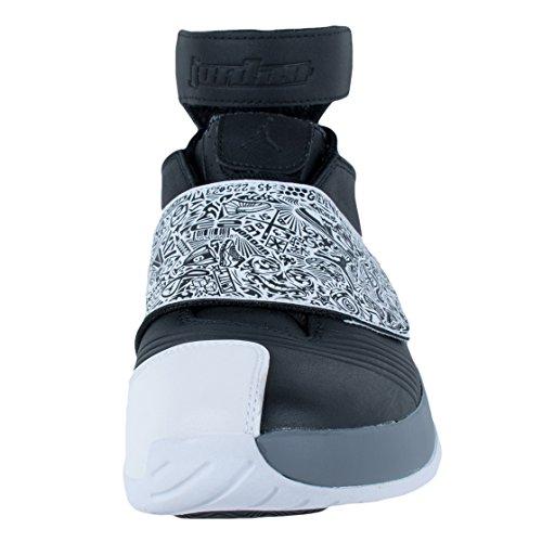 Nike Herren Air Jordan Xx Basketballschuhe, 47.5 EU Schwarz / Weiß / Grau (Schwarz / Weiß-Cool Grey)