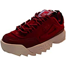 scarpa fila rosse