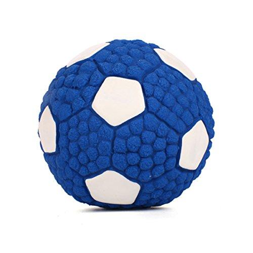 PETCUTE Ball für Hunde Hundespielzeug Ball vollgummiball für Hunde Ball Spielzeug für Hunde Welpen Hundespielzeug Tennisball mit (Hunde Fußball Ball Kostüm)