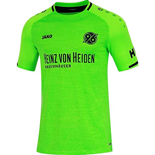 Jako Hannover 96 Herren Ausweichtrikot 2018/19 Neongrün (XXL)