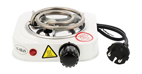 AL-SHAN Hot Plate 400-Watt Induction Cooktop (White)