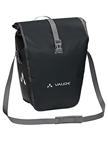 VAUDE Aqua Back Single Hinterradtasche, Black, 37 x 33 x 19 cm (Fahrradtaschen Vaude)