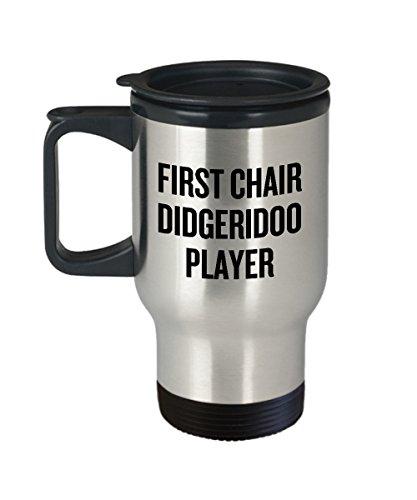 Alicert5II Didgeridoo Travel Mug Finny Didgeridoo Geschenkidee Didgeridoo Player Present First Chair Didgeridoo Player