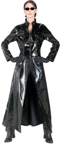 Matrix 2Trinity Matrix Reloaded, Erwachsene Kostüm–Standard Größe (Trinity Aus Matrix)