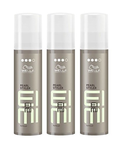 Wella EIMI Pearl Styler 3 x 100 ml Styling Texture Gel Professionals by Wella