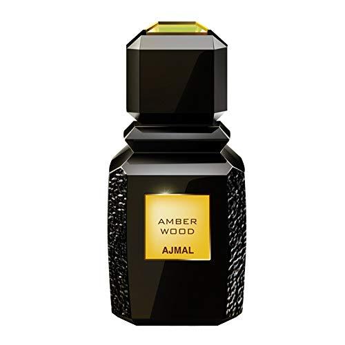 Ajmal Amber Wood by Ajmal Eau De Parfum Spray (Unisex) 3.4 oz / 100 ml (Women)