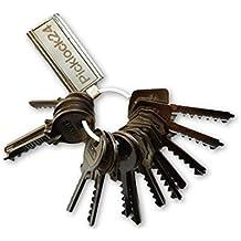 Picklock24. Juego de llaves maestras bumping de serreta válidas para cerraduras de España nº 2