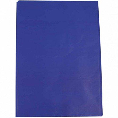 Seidenpapier 50x70 cm, Blau 25 Bögen (Blau Bögen)