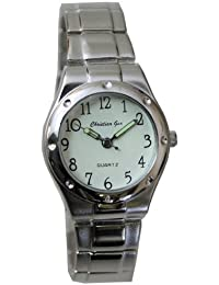 Reloj analógico de señora cadena números - Christian Gar -Mod.4504-L