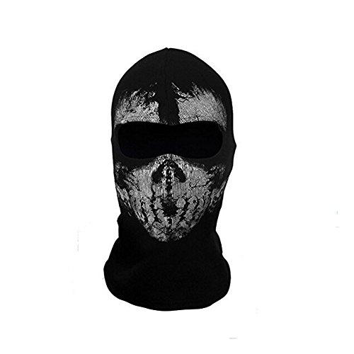 Call of Duty Geister Schädel-Maske Balaclava Hood Ghosts Skull Mask