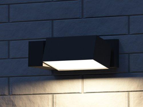 Lampade Da Parete Per Esterni : Philips border lampada da parete per esterno faro regolabile