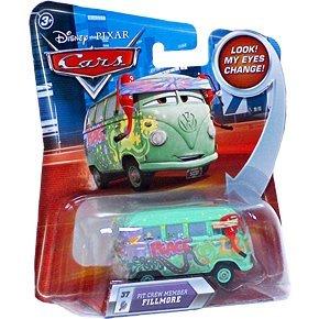 Disney / Pixar CARS Movie 155 Die Cast Car with Lenticular Eyes Series 2 Pit Crew Member Fillmore by Disney (Disney Cars 2-pit Crew)