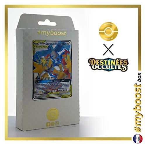 Sulfura, Electhor et Articodin-GX 66/68 Full Art - #myboost X Soleil & Lune 11.5 Destinées Occultes - Coffret de 10 Cartes Pokémon Françaises