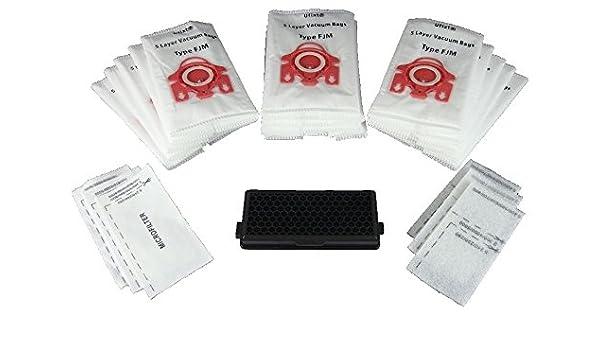 5 Sacchetti per aspirapolvere Miele s336i S2511 S311i s321-2 s338i S251i S3121-2 FJM /& Filtri