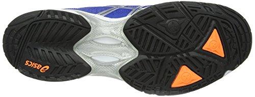 Asics Gel-Solution Speed 2, Scarpe sportive, Uomo Blue/Flash Orange/Silver 4230