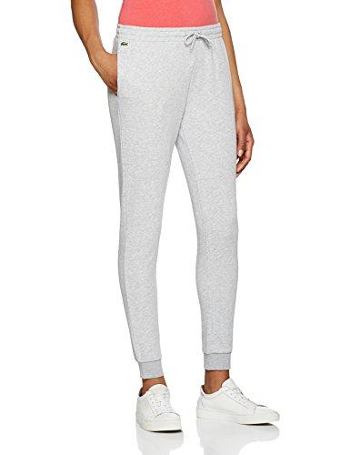Lacoste Sport Damen Sportswear-Hose Xf3168, Grau (Argent Chine) ,36