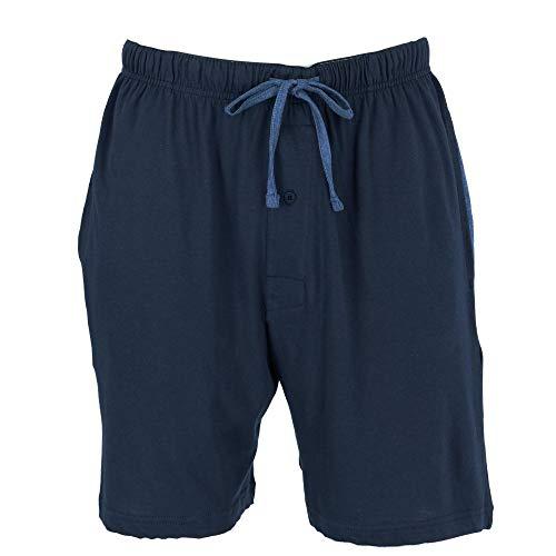 Hanes Men's Jersey Knit Cotton Button Fly Pajama Sleep Shorts -