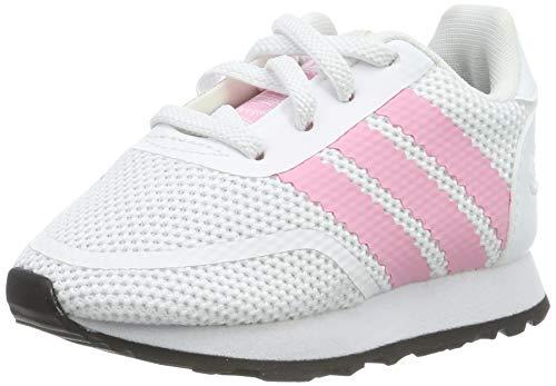 adidas Unisex Baby N-5923 EL I Gymnastikschuhe, Weiß FTWR White/Light Pink/Core Black, 24 EU