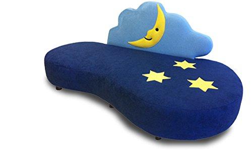 Couch für Kids Kinderzimmer Sternenhimmel Spielwiese Kuschelsofa KINIC -
