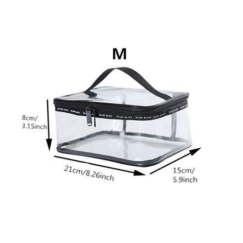 DaDago PVC Transparent Cosmetic Bags Frauen Reisen Wasserdicht Clear Wash Organizer Pouch Beauty Makeup Case Zubehör Lieferungen - #02
