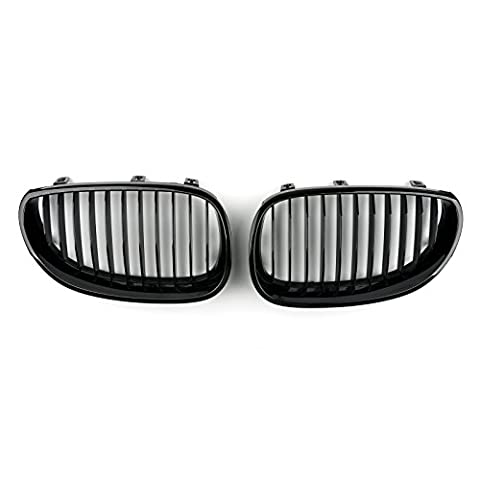 Areyourshop Gloss Black Front Grille / Front Kidney Grill