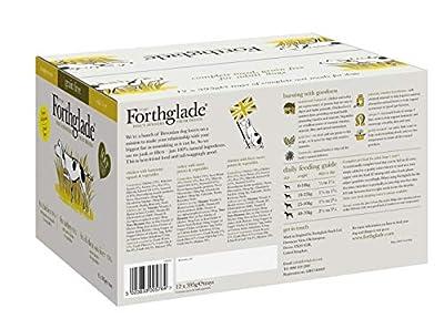 Forthglade 100% Natural Grain Free Complete Wet Dog Food Poultry Variety Pack 395g (12 Pack) from Forthglade Foods ltd