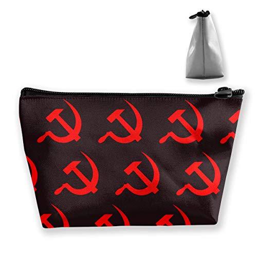 Bolsa Maquillaje Viaje - Martillo Rojo Hoz Bolsa Maquillaje