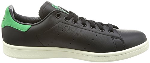 adidas Unisex-Erwachsene Stan Smith Sneaker Schwarz (Core Black/Green)