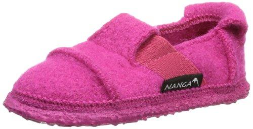Nanga Berg Mädchen Flache Hausschuhe, Rosa (Pink 27), 34 EU