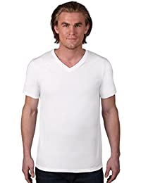 anvil Herren Fashion Basic V-Neck Tee / 982