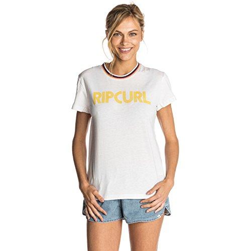 Rip Curl Women's Stripy Mama Short Sleeve T-Shirt