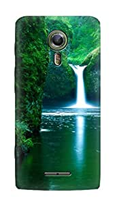 SWAG my CASE PRINTED BACK COVER FOR ALCATEL ONETOUCH FLASH 2 Multicolor