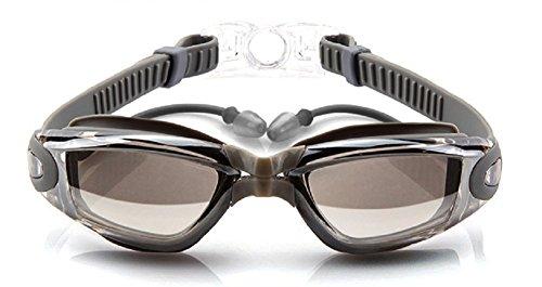 Schwimmen Schutzbrillen, Embryform Clear Schwimmen Schutzbrillen Keine Leaking Anti Fog UV Schutz Triathlon Schwimmbrille mit freiem Schutz Fall für Erwachsene Männer Frauen Jugend Kinder Kind, YG3C2