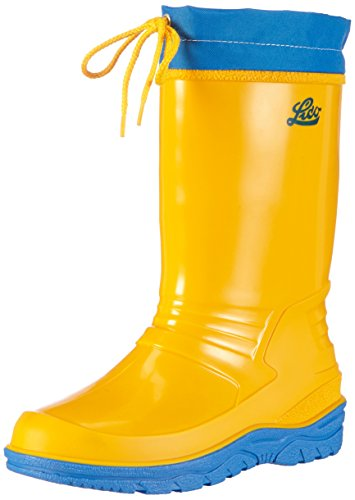 Azul amarelo Nova Botas Amarelo Punto Lico De Borracha 7q16xw8S