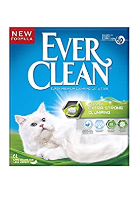 Ever Clean Extra Strong Clumping Scented Cat Litter, 6 Litre