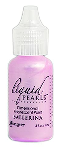 Liquid Pearls Dimensional Pearlescent Paint .5oz-Ballerina
